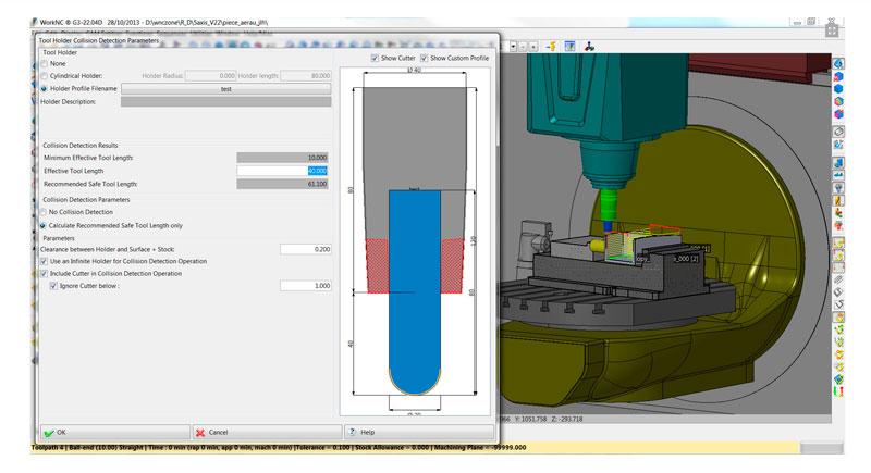workNC CAD CAM mecanizado ingenieria de moldes