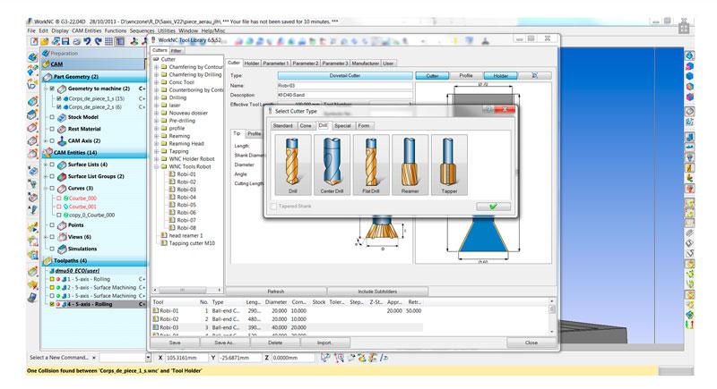 tecnocad con work NC ingenieria CAD CAM
