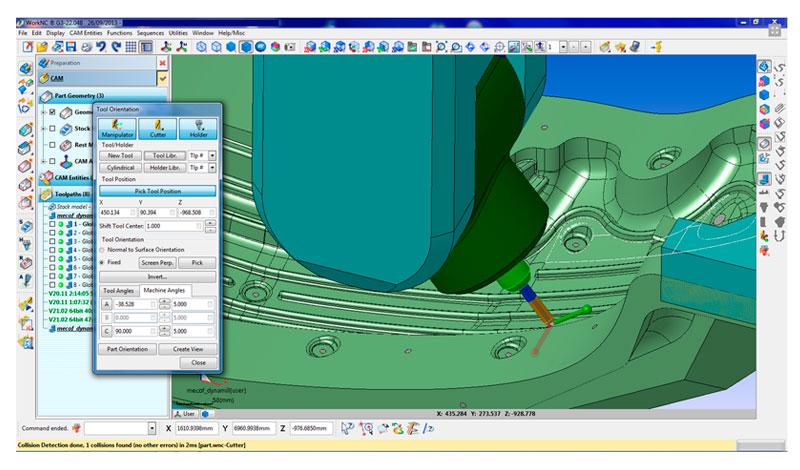 modulos principales mecanizado de moldes CAD CAM